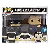 Funko 7005 - Batman V Superman, Pop Vinyl Figure 2 Pack Batman And Superman Metallic Version