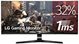 LG 34UC79G-B 86,36 cm (34 Zoll) Curved 21:9 UltraWideTM Full HD IPS Gaming Monitor (144 Hz, AMD Radeon FreeSync, DAS Mode), schwarz
