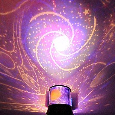 DIY Romantico Galassia Luce Stellato Cielo Notturno proiettore per Festeggiare la Festa di Natale