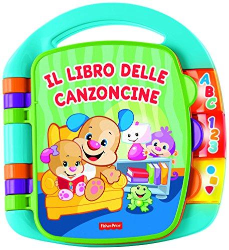 Fisher Price Libro delle Canzoncine Ridi e Impara, Libricino per Bambini dai 6 Mesi per Imparare...