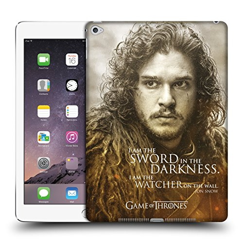 Official HBO Game of Thrones Jon Snow Character Portraits Hard Back Case for iPad Air 2 (2014)