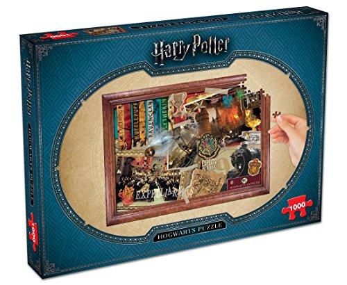 Winning Moves Puzzle da 1000 Pezzi - Harry Potter - Hogwarts (UK)