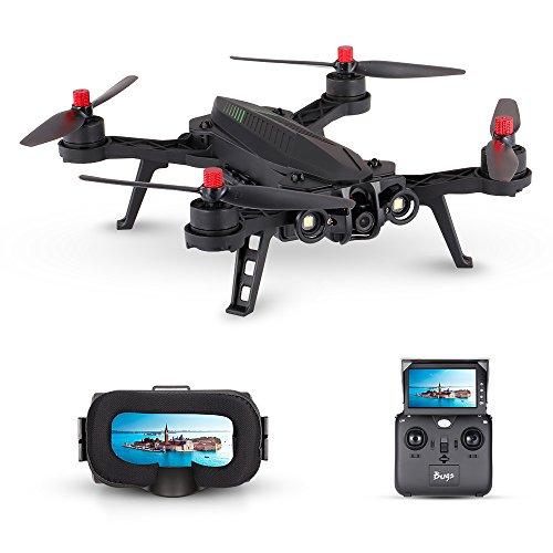 Goolsky MJX Bugs 6 B6 720P Camera 5.8G FPV Drone 250mm Quadcopter da corsa Brushless ad alta velocità con G3 Goggles