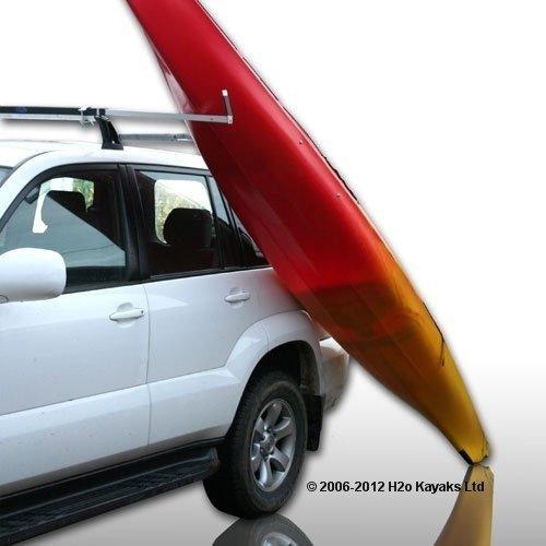 RUK Sports - Barra de carga para kayak (para montar sobre techo de vehículo)