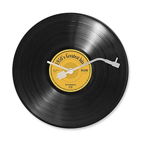 Balvi orologio da parete Greatest Hits - Design retrò Gancio parete in dotazione Plastica 30 x 30 x...