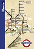 London Underground 50 Postcards [Lingua Inglese]