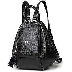 Deal Especial Smart Girl's Shoulder Bag (Black)
