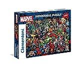 Clementoni- Marvel Impossible Puzzle, 1000 Pezzi, 39411