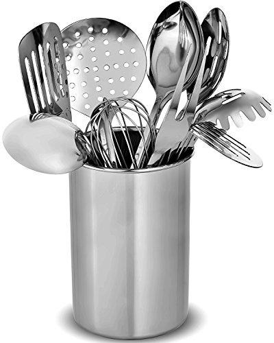 Utensili da cucina in acciaio INOX Finedine – 10 robusti utensili da ...