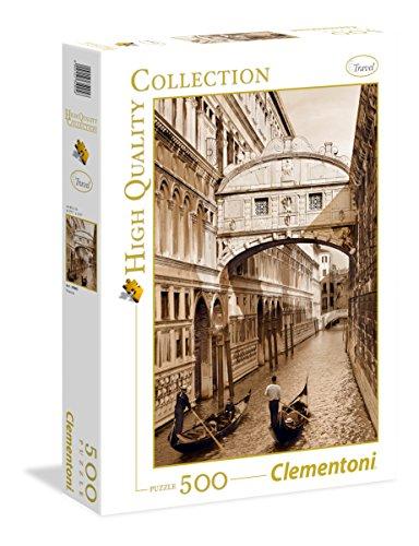 Clementoni - 35005 - High Quality Collection Puzzle - Venezia - 500 Pezzi