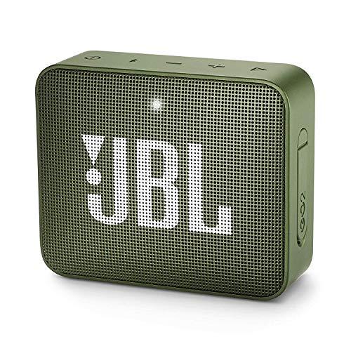 JBL GO 2 Speaker Bluetooth Portatile, Cassa Altoparlante Bluetooth Waterproof IPX7, con Microfono,...