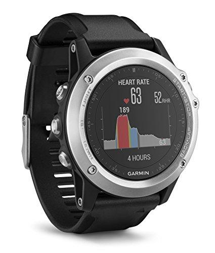 Garmin Fēnix 3 Silver HR Cardio Poignet - Montre GPS Multisports Outdoor -...