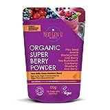 Next Gen U | Organic Super Berry Powder 150g | Featured in The Vegan Magazine | Free eBOOK On Purchase | Vegan Detox Superfood Berries Smoothie Blast | High in Antioxidants 8 High Quality Superfoods