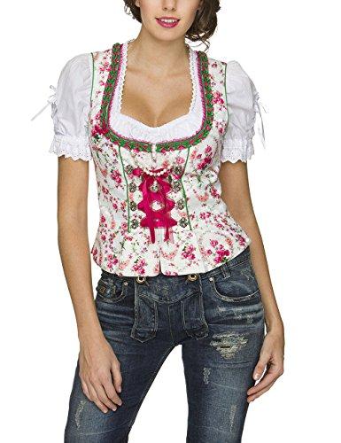 Stockerpoint Damen Trachtenbluse Mieder Ramona Weiß (Weiss), 34 - 4