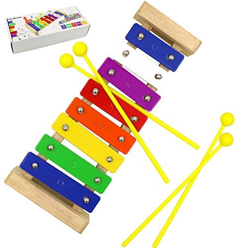 Xilófono para niños de 8 notas