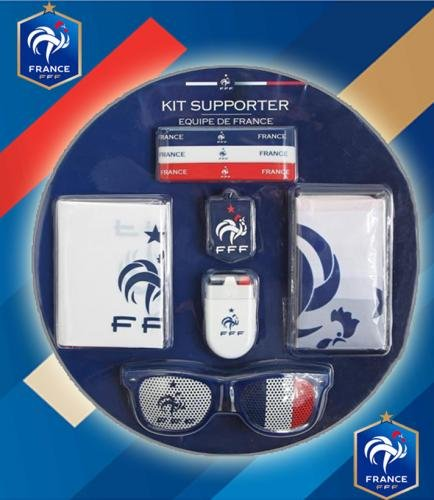 KONTARBOOR     KIT Officiel Supporter Equipe de France de Football ... f652bdc0f66f