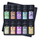 Lagunamoon Aceites Esenciales, Top 10 Set de Regalo de Aceites de Aromaterapia de Lavanda,...