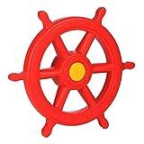 Steuerrad rot für Spielturm Schiffslenker Pirat von Gartenpirat