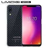 UMIDIGI One Pro - Smartphone de 14,98 cm (5,9 Pulgadas), Memoria Interna de 64 GB, Android 8.0, SIM Dual, Color Negro (versión Global)