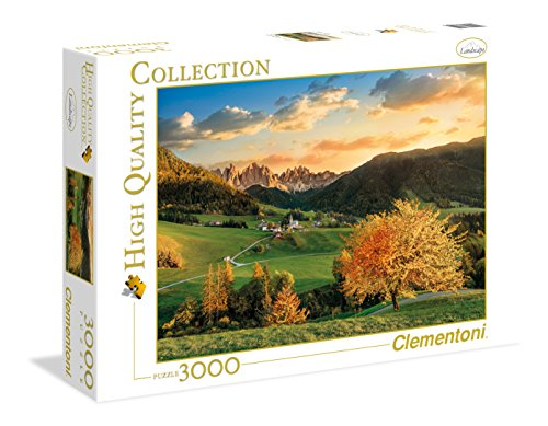 Clementoni - 33545 - High Quality Collection Puzzle - The Alps - 3000 Pezzi