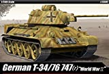 1/35 German T-34/76 747(r) World War II #13502 ACADEMY MODEL KITS