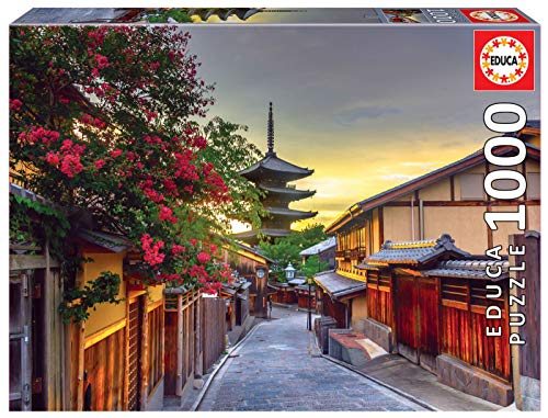 Educa Borras-1000 Pagoda Yasaka, Kyoto, Giappone Puzzle, Multicolore, 17969