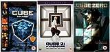 The Complete Cube Trilogy 1 - 3 DVD Movie Collection: Cube / Cube 2: Hypercube / Cube 3: Cube Zero by Nicole de Boer