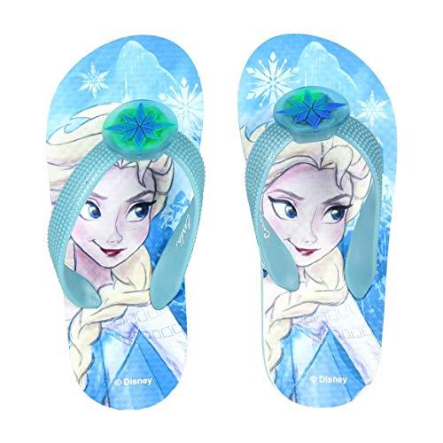 Disney Frozen - Infradito Flip Flop Ciabatte Mare Piscina con Luce LED - Bambina - novità Prodotto...