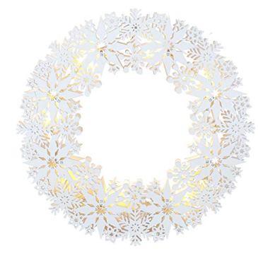 Star 270-63 Snow, Bois, Blanc, 33 x 33 cm