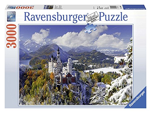 Ravensburger Italy Puzzle in Cartone Castello Neuschwanstein, 3000 Pezzi 17062