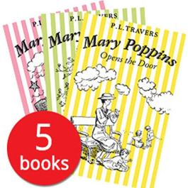 P. L. Travers Mary Poppins – 5 Book Collection