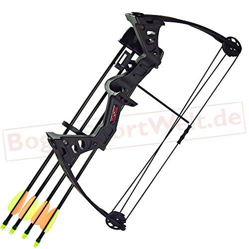 Strongbow Besra - 19-25 lbs - Compoundbogen   Farbe: schwarz