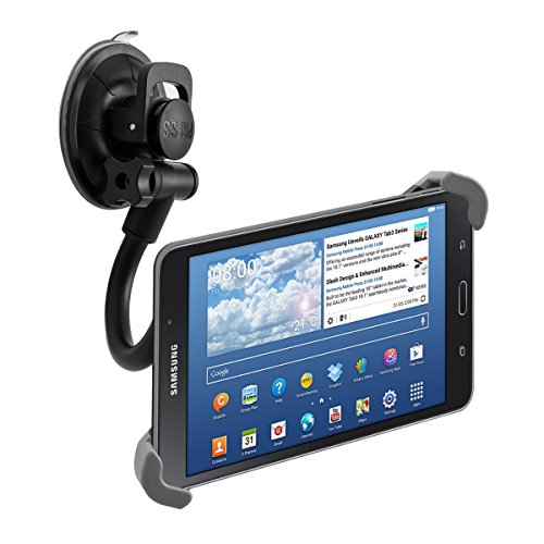 kwmobile Supporto Tablet Tablet 7-10,5' per auto - regolabile 21,0-34,0 cm orientabile 360° con...