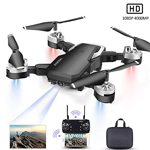 Drone con Telecamera, Mini Drone con 1080P HD FPV Wi-Fi per Video, Headless Mode/Manutenzione...