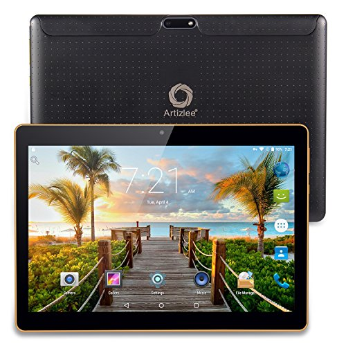 Artizlee ATL-21T Tablet Pc 3G - 10 Pollici (10.1') HD IPS Display (Quad Core, Capacità 16GB + RAM...