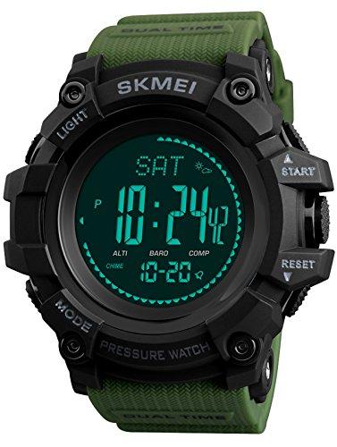 Reloj - findtime - para - FindtimeSkmei1358Green