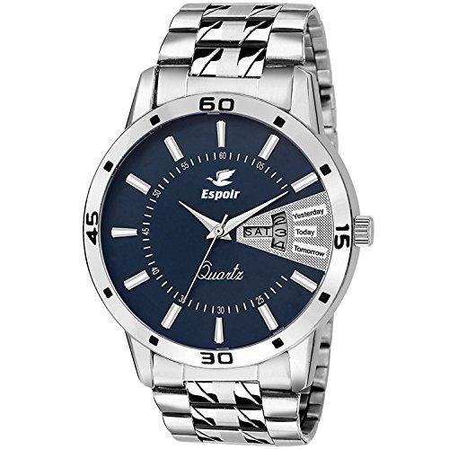 Espoir Analog Blue Dial Men's Watch - ESP786000