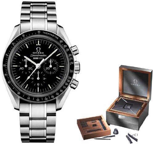 Omega Speedmaster Herren-Armbanduhr, limitierte Auflage zum 50. Jahrestag, 311.33.42.50.01.001