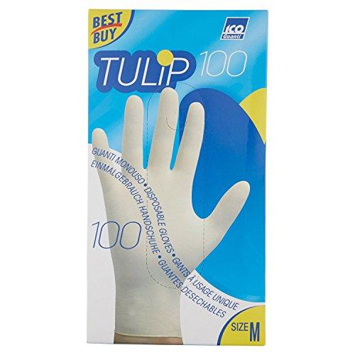 Tulip - Guanti Taglia M, Confezione da 100