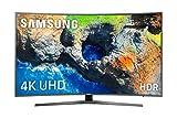 """Samsung TV 49MU6655 - Smart TV DE 49"""" (UHD 4K, HDR, Pantalla Curva, Quad-Core, Active Crystal Color, 3 HDMI, 2 USB), Color Gris"""