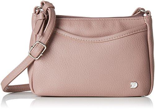 TOM TAILOR Umhängetasche Damen Cilia, Rot (Altrose), 4x14x21.5 cm,, Damen Handtasche TOM TAILOR Handtaschen, Taschen für Damen, klein