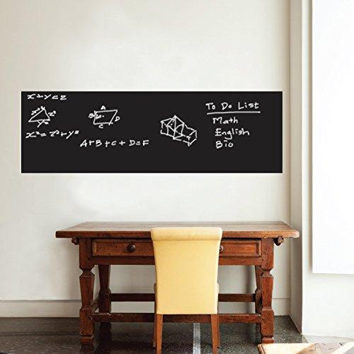 Walplus da parete 200x 45cm UK lavagna adesivo rimovibile da parete Art Decals vinyl Home...