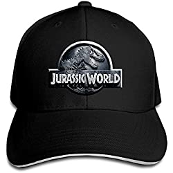 Yhsuk Jurassic World Sandwich Peaked Hat/Cap Black