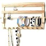 Supporto per gioielli–Porta bijoux–Portagioie in legno–Porta Gioielli