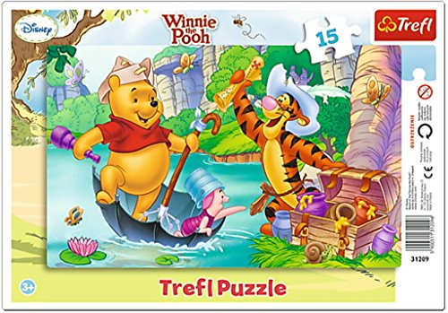Trefl Puzzle Caccia al Tesoro Winnie The Pooh, TRF31209