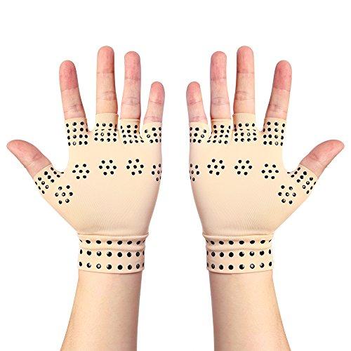 Guanti anti-artrite con magneti, calma i dolori reumatici della mano, salute, terapia della...