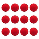 25Pcs Red Foam Clown Noses for Party Halloween Costume Supplies