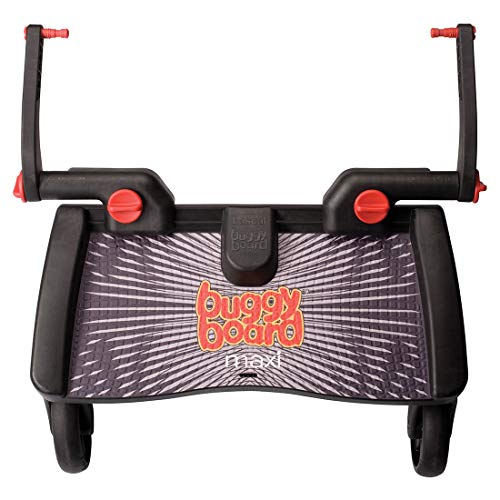 Lascal 2730 Buggyboard Pedana Maxi Universale Per Passeggino E Carrozzina, Nera