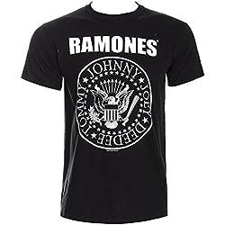 RAMONES HEY HO BLK TS MEDIUM