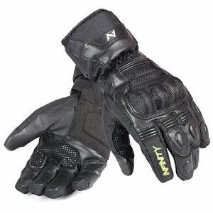 Infinity Leder Motorrad Handschuhe Schutz stützende Wasserdicht Sommer und Winter Fahrrad Sport. 12